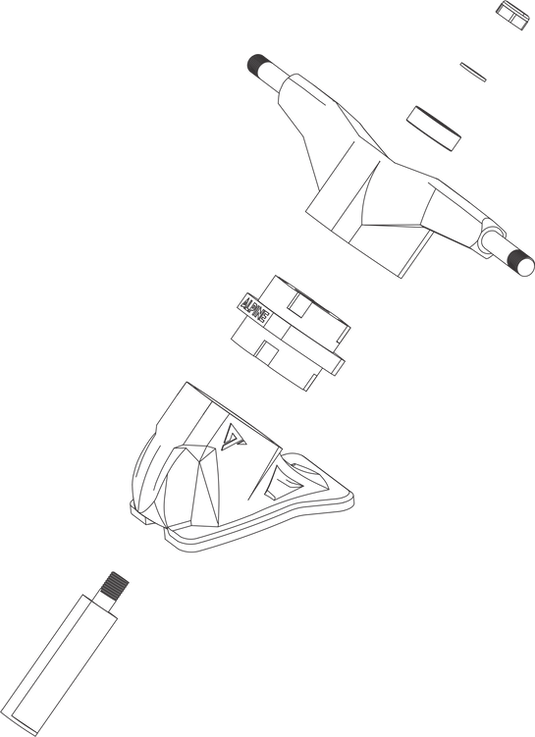 truck alpine simulador de surf