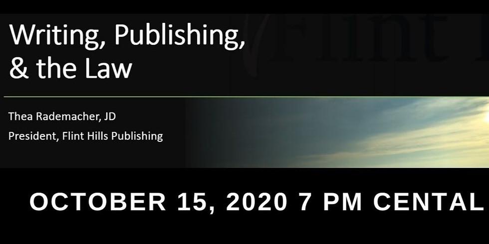 Writing, Publishing, & the Law Workshop