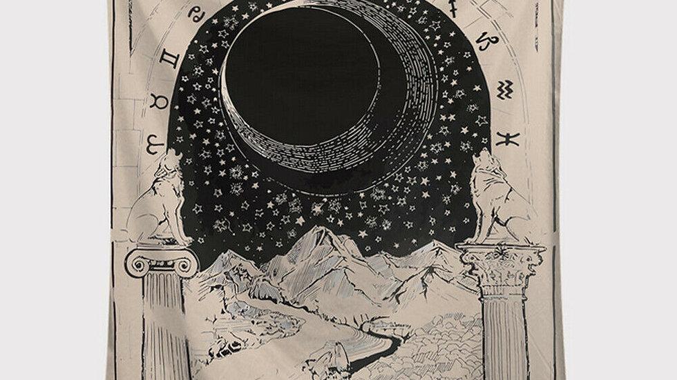 Tarot Card Tapestry
