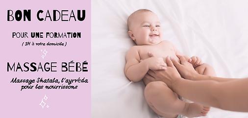 cadeau naissance massage bébé liste de naissance bordeaux talence