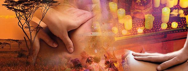 Massage au coeur des sens