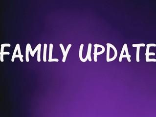 FAMILY UPDATE