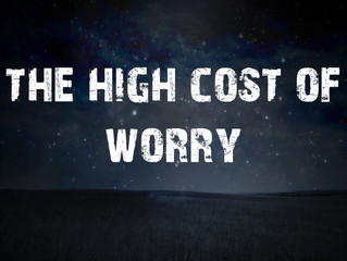 The High Cost of Worry
