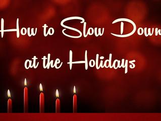 STUFFED: De-Stress Your Holidays