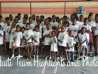 Haiti Mission Team Report