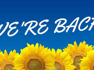 We're back (again)!