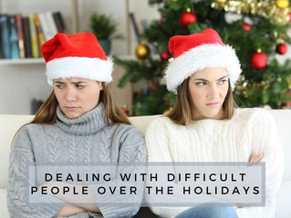 Dealing With Difficult People Over The Holidays