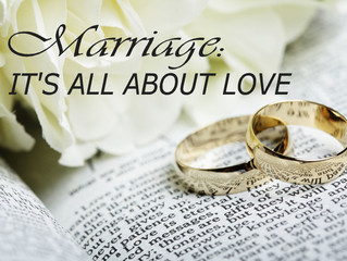 Marriage: It's All About Love