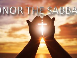 Honor The Sabbath