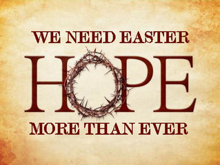 We Need Easter Hope More Than Ever