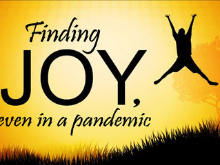 Finding Joy, Even In A Pandemic