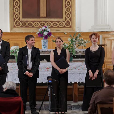 L'Ensemble Sottovoce en concert en l'église de Beslé-sur-Vilaine