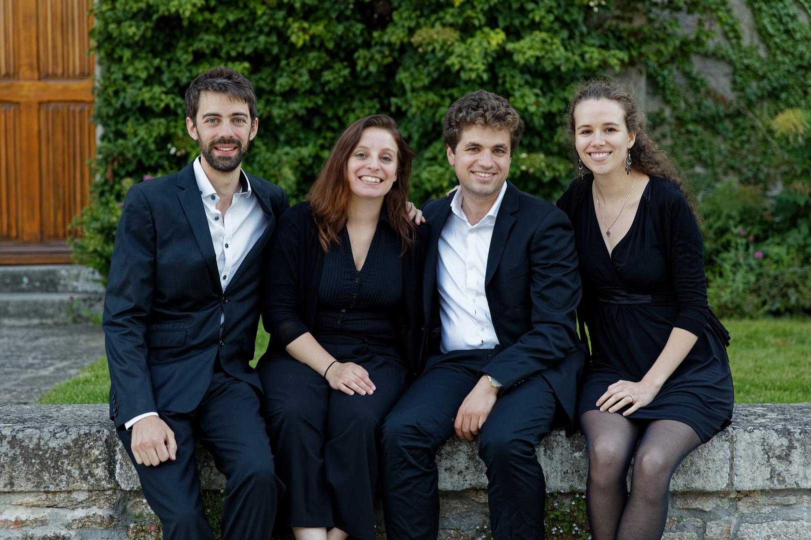 Ensemble Sottovoce (quatuor, 2020)