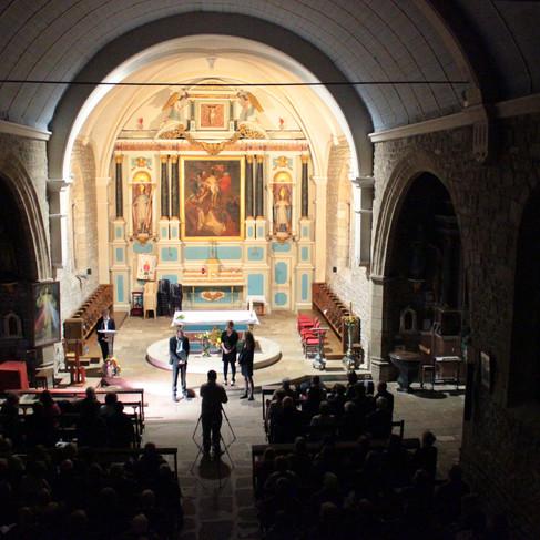 L'Ensemble Sottovoce en concert en l'église Saint-Thuriau de Crac'h