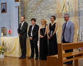 L'Ensemble Sottovoce à Sainte-Bernadette du Kreisker