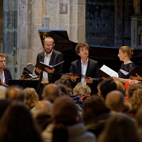 L'Ensemble Sottovoce à Saint-Merry