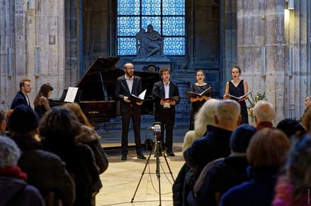 L'Ensemble Sottovoce en l'Église Saint-Merry