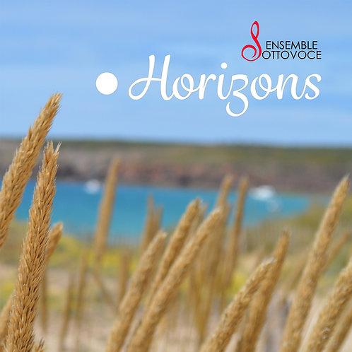 """Disque """"Horizons"""" (format digital)"""