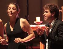 L'Ensemble Sottovoce en concert à Arradon, en 2017