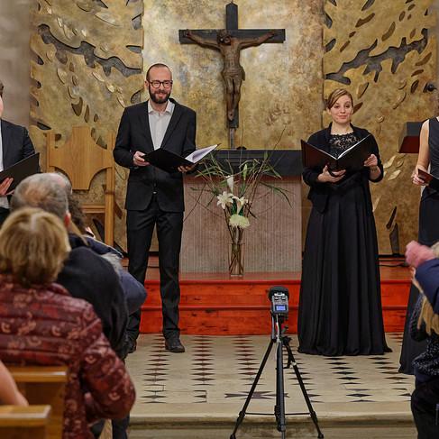 L'Ensemble Sottovoce en concert en l'église Saint-Thibault de Mandres-les-Roses