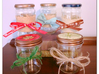 What I Did With What I Thrifted - Gift Jars