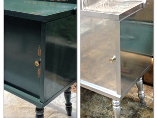 Before & After Wednesday - The Metallics Project
