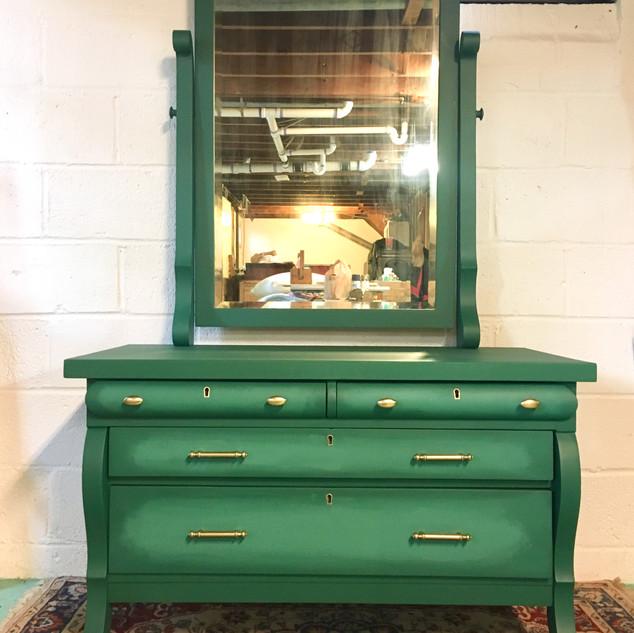 The Emerald Dresser