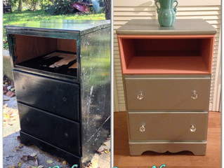 Before & After Wednesday:  The Brookland Nightstand