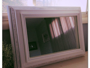 Before & After Wednesday:  The Stacked Frame Mirror