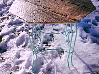 Elsa the Barn Wood End Table