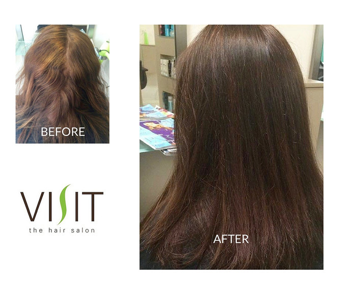 The Latest Hair Transformations at VISIT