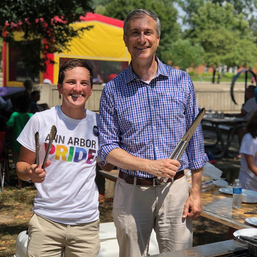 Ann Arbor Pride Picnic with Mayor Christopher Taylor