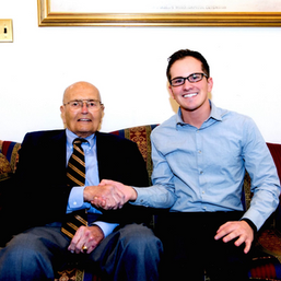 Jason with his mentor and former boss, Congressman John Dingell