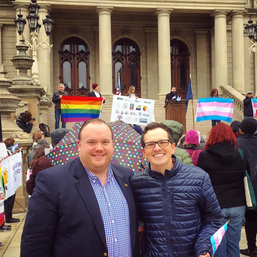 Advocating for our LGBTQ+ Community in Lansing with Councilmember Travis Radina