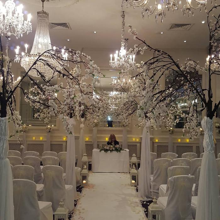 Civil Wedding Decorations, Dublin, Galway, All Ireland.