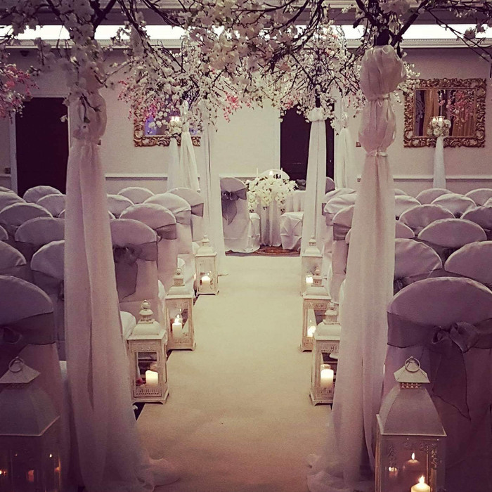 Civil ceremony decoration hire all Ireland