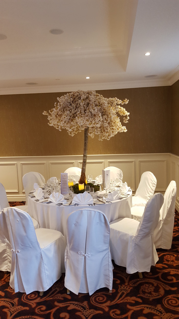 Cherry blossom center piece hire