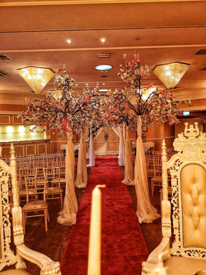 Finnstown Castle, #weddingday #weddingaisledecor #lanterns #ido #marryme #weddingireland #aislelovey