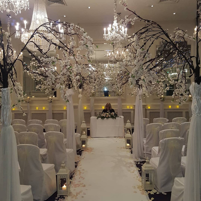 Meyrick Hotel Galway Wedding Decoration