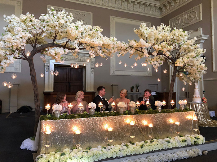 Book your top table trees today, visit our website www.aisleloveyou.ie