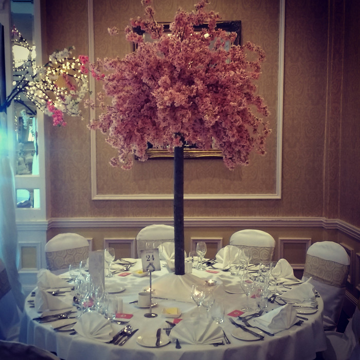 Cherry Blossom Center Piece's