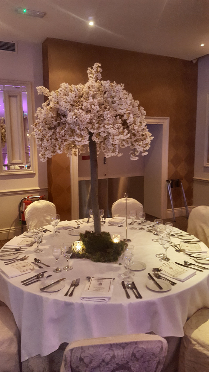 Cherry Blossom Centre Pieces