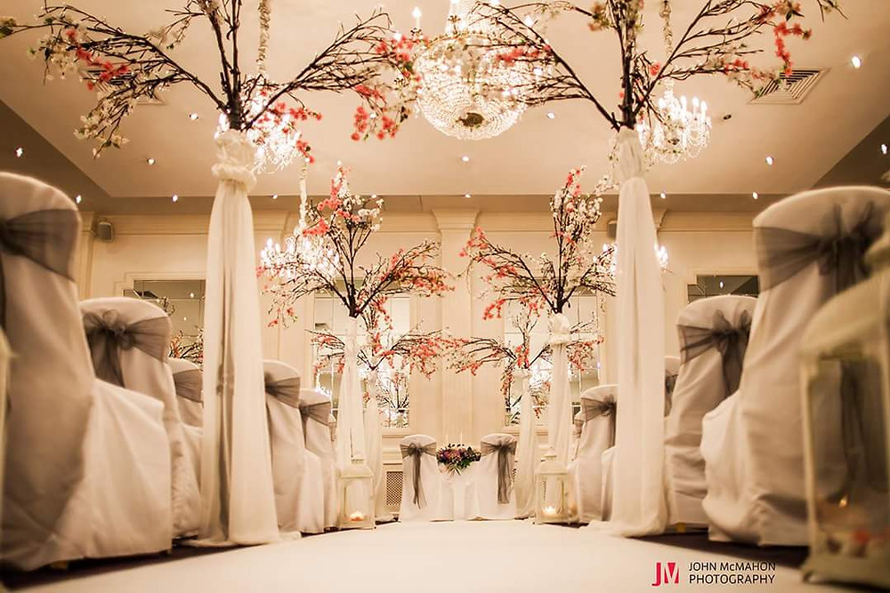 Civil Ceremony Decor