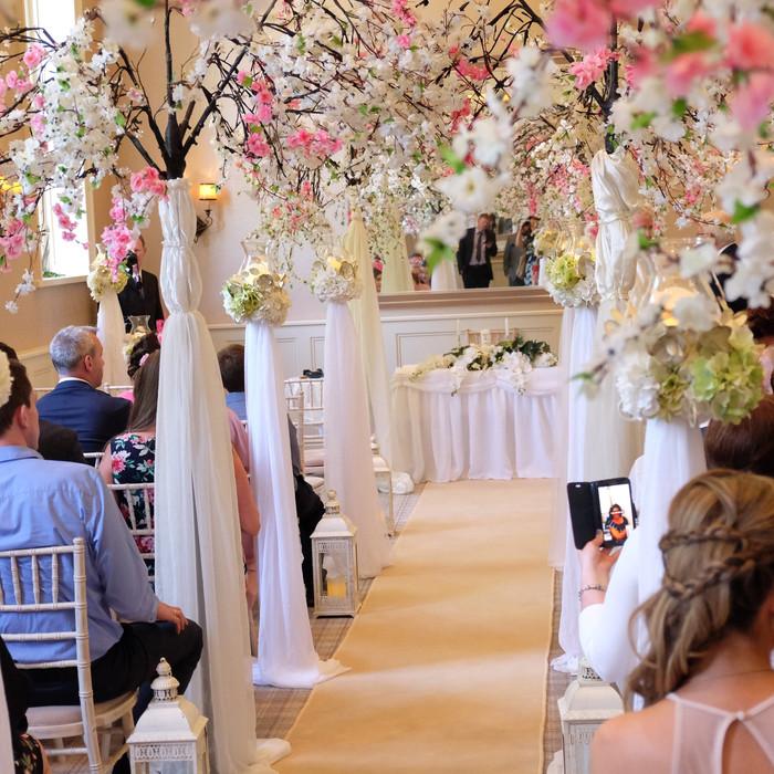 Faithlegg House Hotel, Civil ceremony decorations