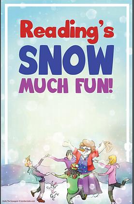 SnowGran Reading Poster