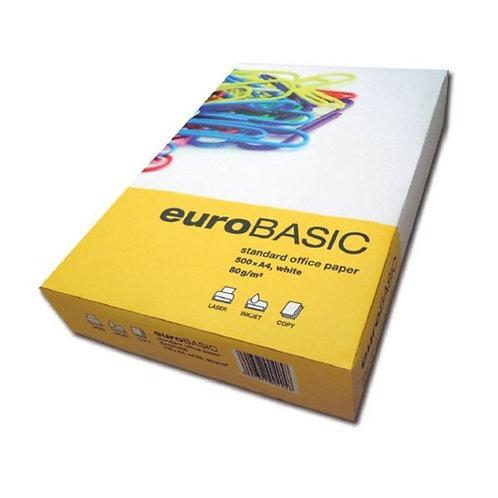 Kancelářský xerografický papír Eurobasic A4