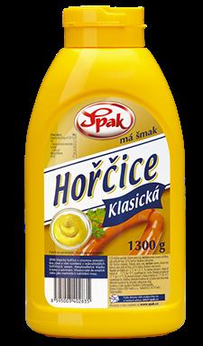 HOŘČICE KLASICKÁ  1kg