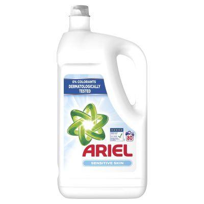 Ariel prací gel na bílé prádlo 4,4l (80 praní)