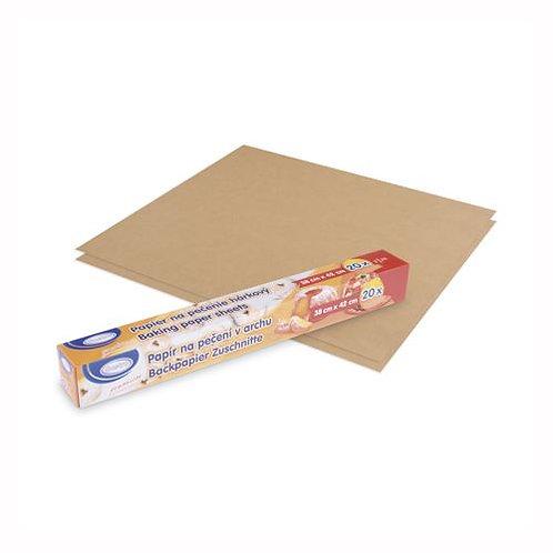 Pečící papír archový 38 x 42 cm [20 ks]