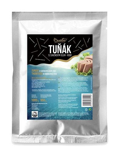 Tuňák se slunečnicovým olejem 1 kg - kousky
